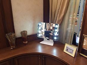 Макияжное зеркало для дома