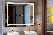 Зеркало с подсветкой, Зеркала с подсветкой, Светодиодная подсветка, Светящиеся зеркала, Зеркало для ванной с подсветкой, Подсветка на зеркале, Подсветка в ванной, Зеркало макияжное, Зеркало для салона красоты, Зеркало для визажиста, Фотозеркало