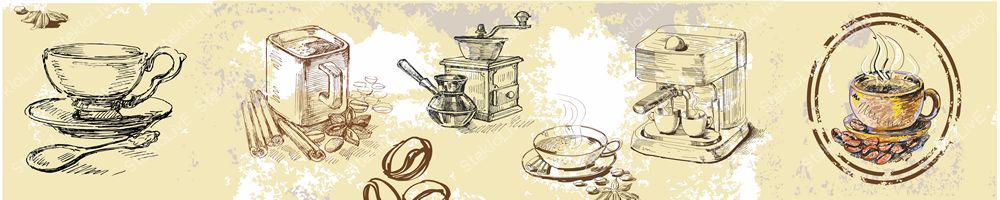 Кухонный фартук еда и напитки 075