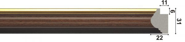 арт.1258-BR, коричневый