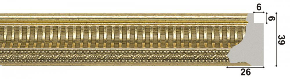 арт.1260-GL, золото
