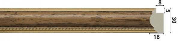 арт.1257-BR, коричневый