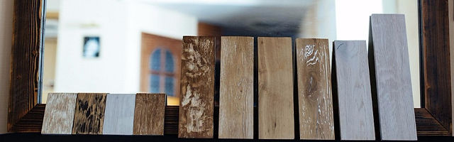 Деревянная рама для зеркал
