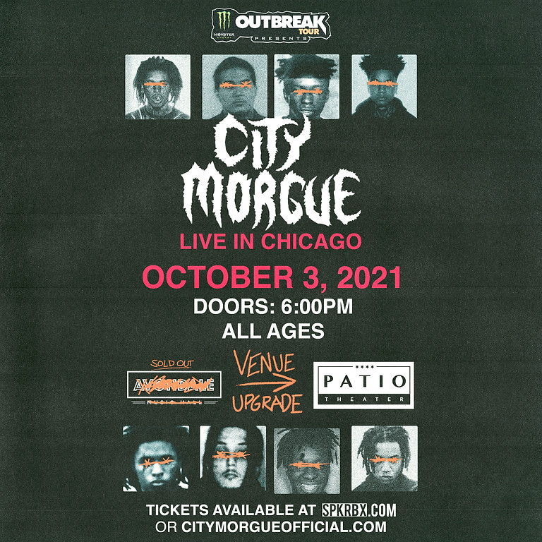 CITY MORGUE - MOVED TO PATIO THEATER!