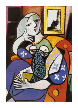 picasso_woman_with_book