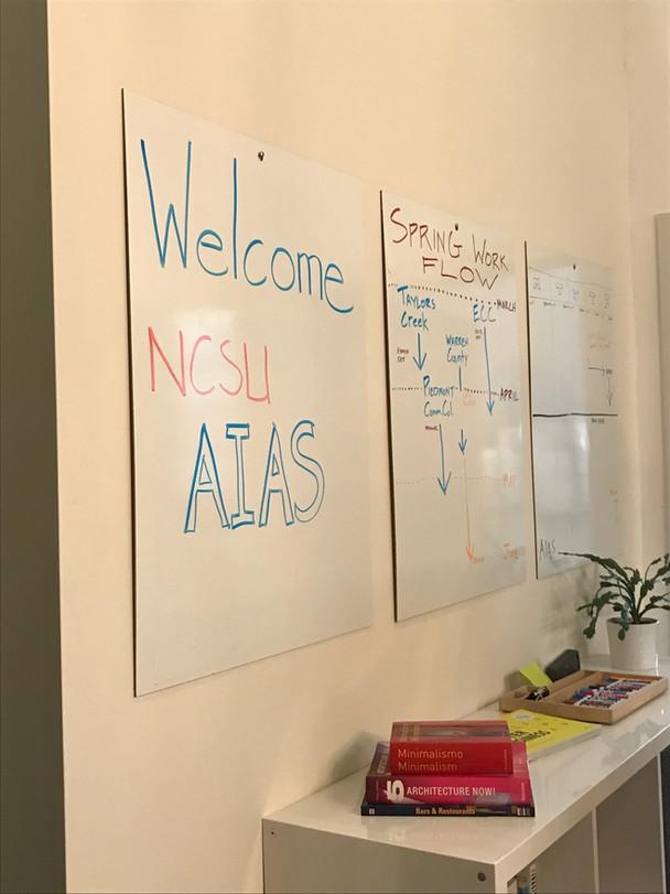 AIAS NCSU VISITS OCA!