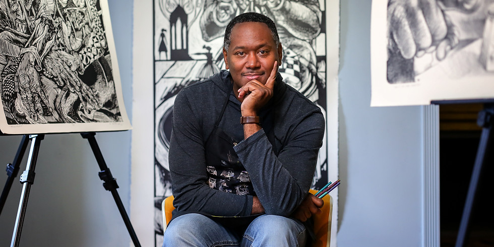 Artist Talk with Steve Prince (Living Epistle: Art for Troubled Times)