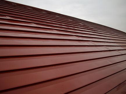 三浦市体育館屋根塗装工事 塗装完了
