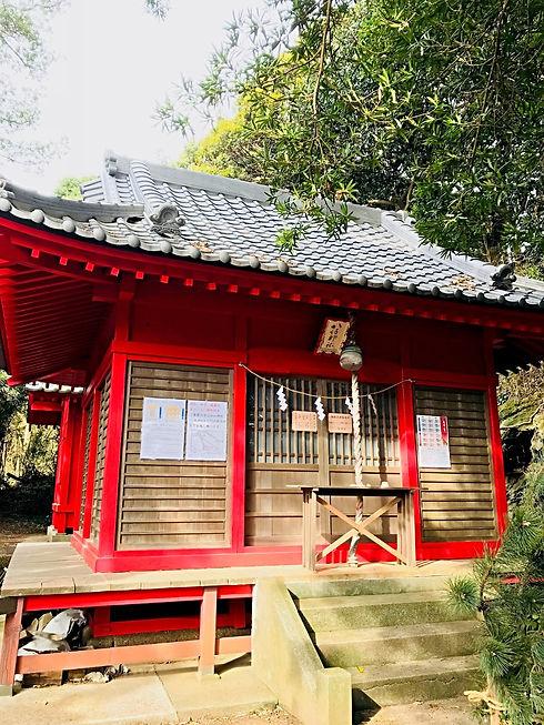三浦市八坂神社です。