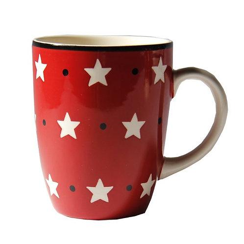 Mug BOLS&CO étoile rouge 30cl