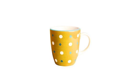 Mug BOLS&CO pois curry 30cl