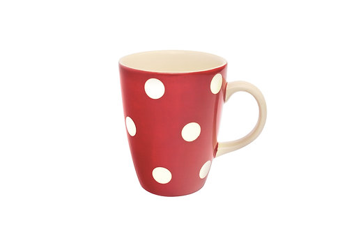 Mug GROS POIS rouge 30 cl