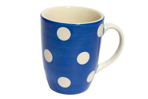 Mug GROS POIS bleu gitane 30 cl