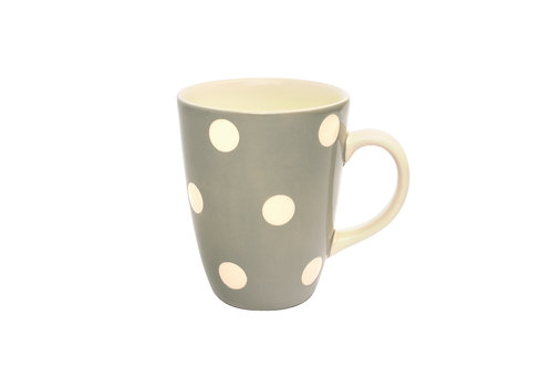 Mug GROS POIS gris 30cl
