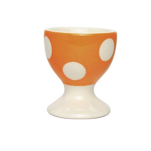 Coquetier GROS POIS orange
