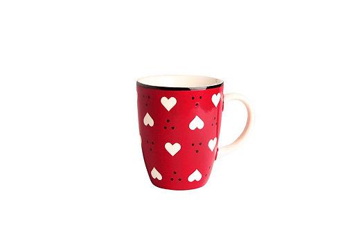 Mug BOLS&CO coeur rouge 30cl
