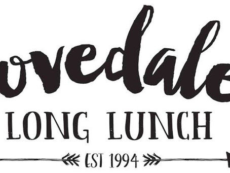 Lovedale long lunch 2020 book you group in now !
