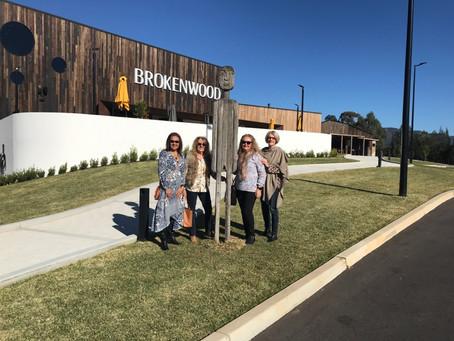 Sydney International and wine tasting tour day