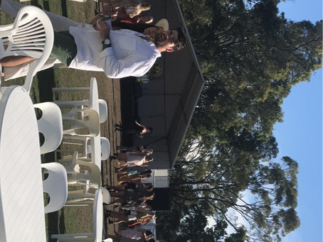Lovedale Long Lunch Sunday's next stop Wandin Hunter Valley