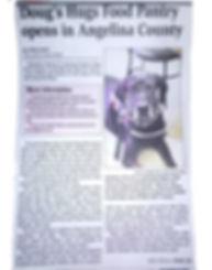 LDN Article on Dougs Hugs Food Pantry Pg
