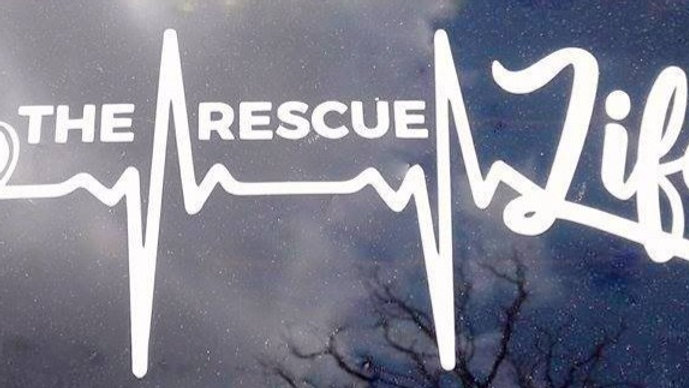 The Rescue Life Decal
