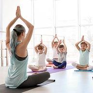 Little children and their teacher practi