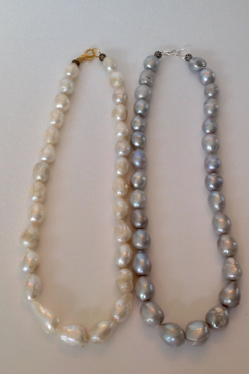 "(BPN1) 18"" baroque pearls"