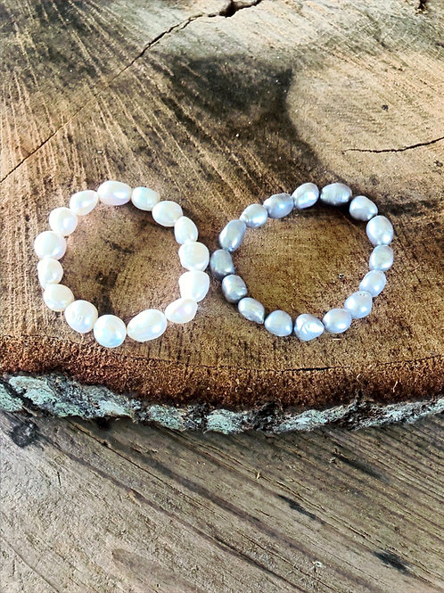 (BPB1) freshwater baroque pearls