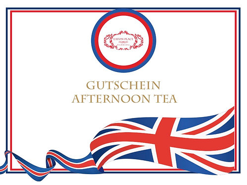 Gutschein Afternoon Tea