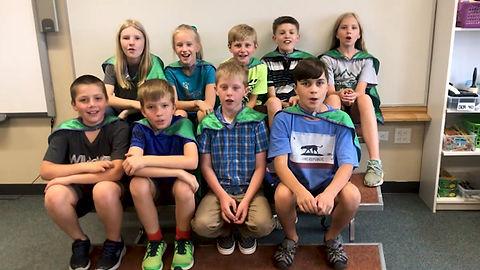 The Green Team Superheroes of Wilmot Elementary