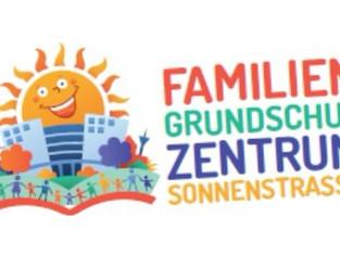 Schullogo & Schul - Wimmelbild