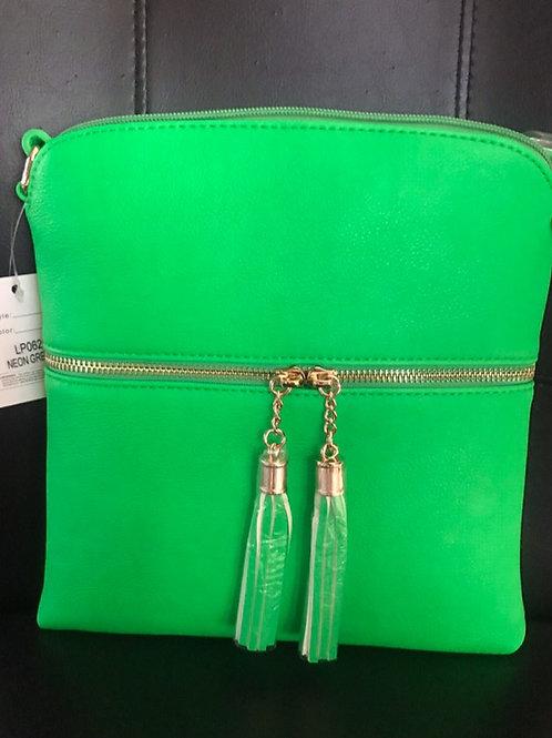 Green Messenger Bag