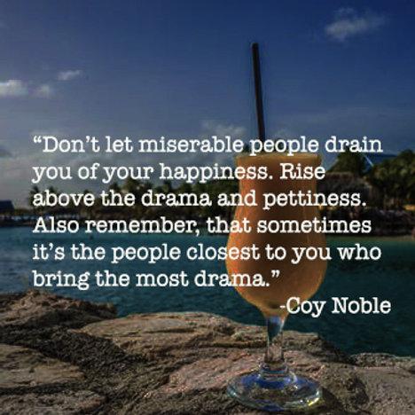 Most Drama Quote