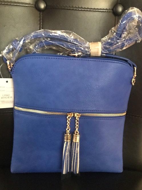 Royal Blue Messenger Bag