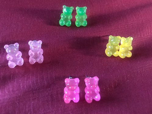 Gummie Bear Earrings