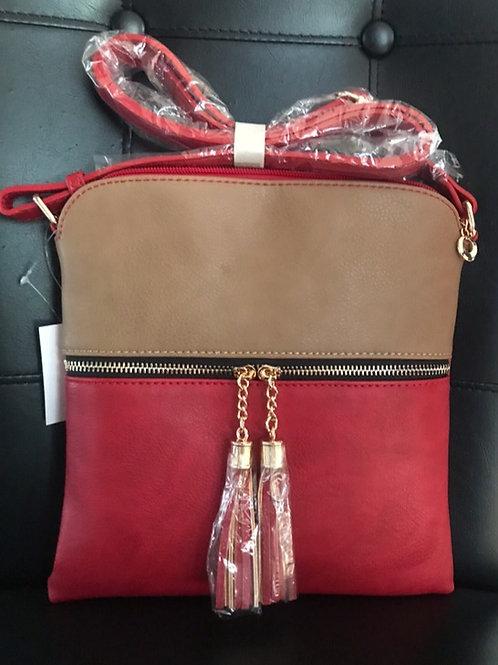 Multi-Color Messenger Bag