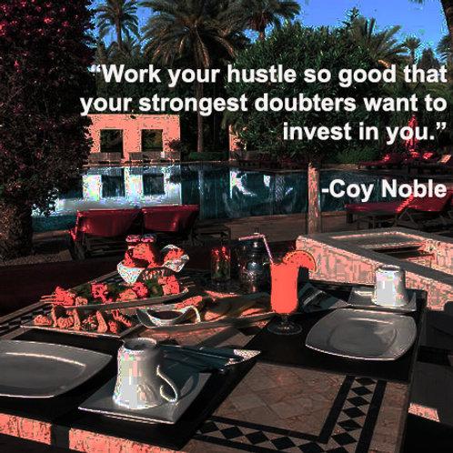 Hustle So Good Quote