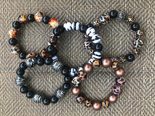 Animal Print Bracelets