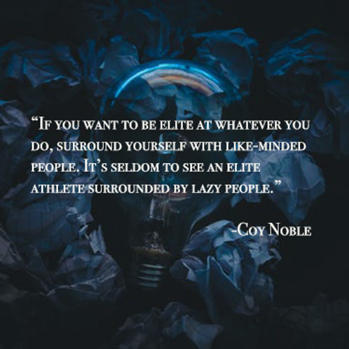 An Elite Mind Quote