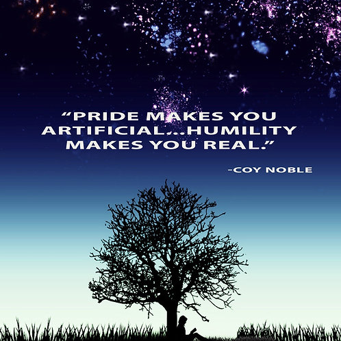 Artificial Pride Quote