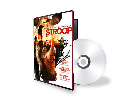 SIGNED STROOP DVD!