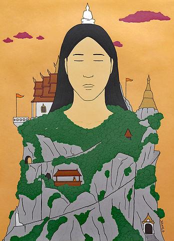 Templo budista - Danilo Tranquilo