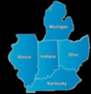 IDJA State Maps