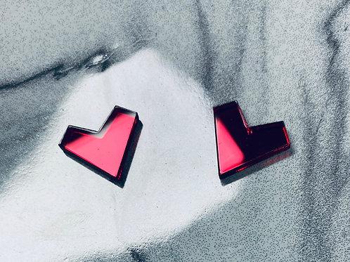 """boucles d'oreilles """"mini Amourea's heart"""""""