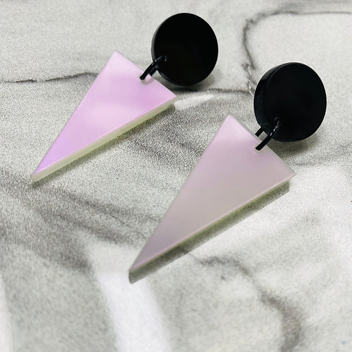 """boucles d'oreilles """"round and t."""""""