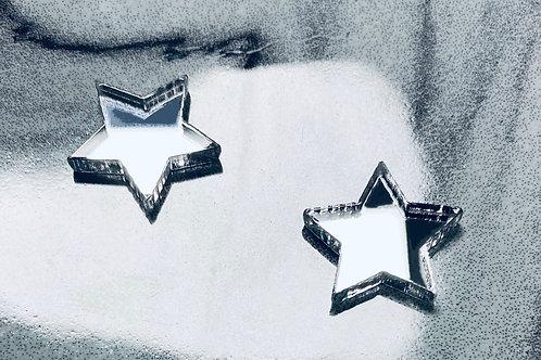 "boucles d'oreilles ""mini-stars"""