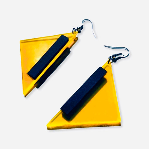"""boucles d'oreilles collection """"funny geo"""""""