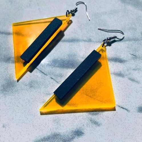 "boucles d'oreilles collection ""funny geo"""