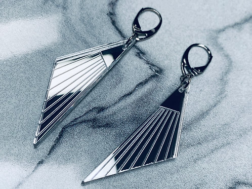 "boucles d'oreilles ""striped t."""