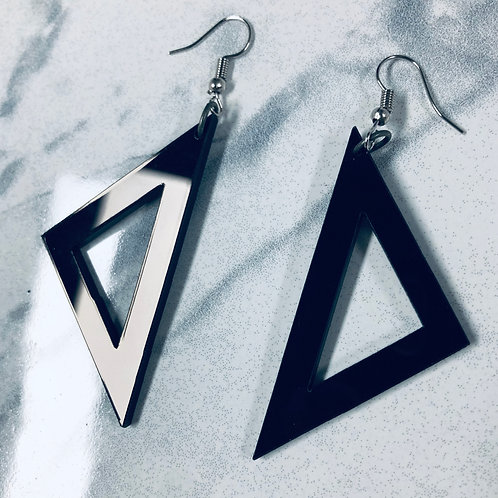 "boucles d'oreilles ""simply geometry"""